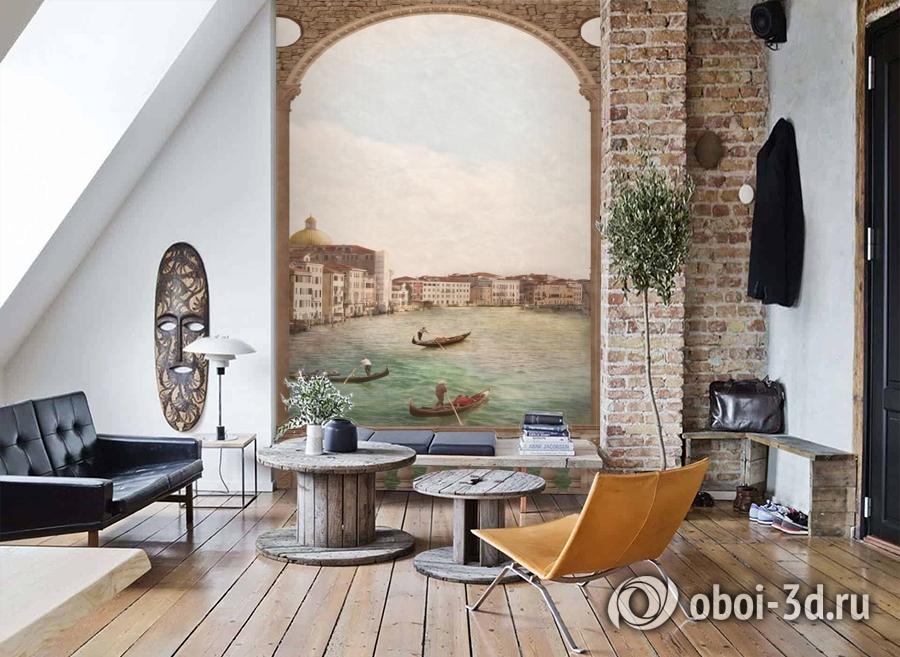 3D Фотообои «Венецианский канал 2» вид 7