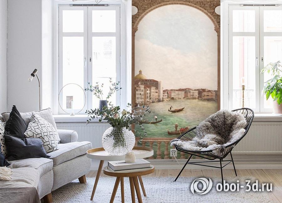 3D Фотообои «Венецианский канал 2» вид 4