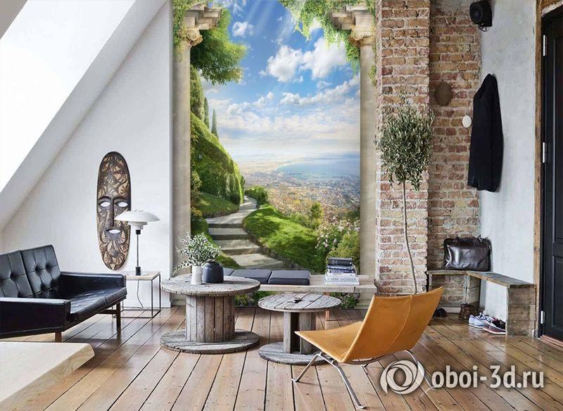 3D Фотообои «Тропинка в райский сад» вид 7