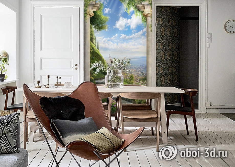 3D Фотообои «Тропинка в райский сад» вид 6