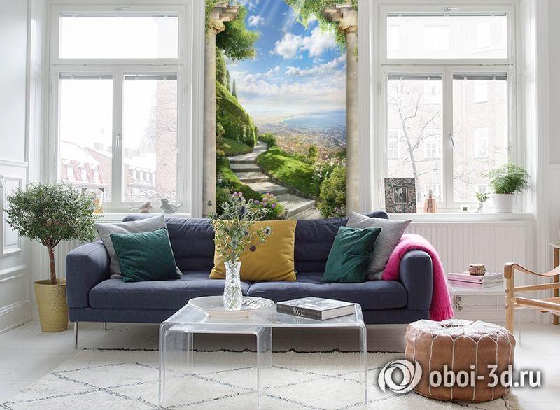 3D Фотообои «Тропинка в райский сад» вид 5