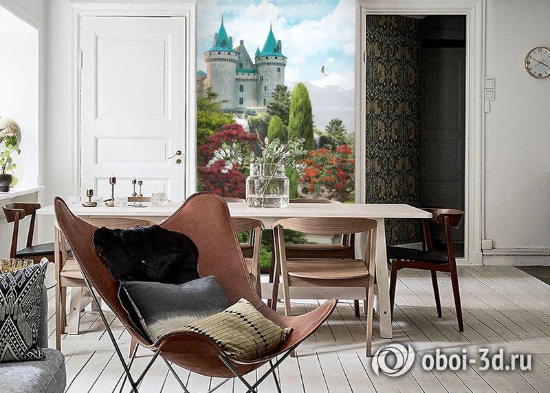 3D Фотообои «Загадочный замок» вид 6