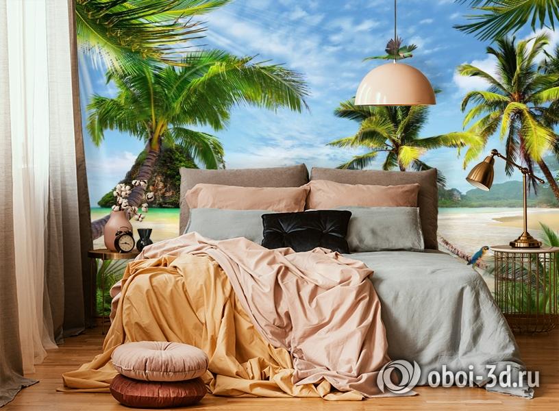 3D Фотообои «Карибский берег» вид 4