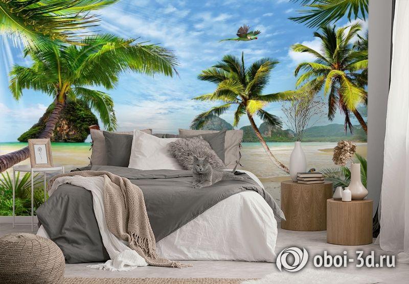 3D Фотообои «Карибский берег» вид 2