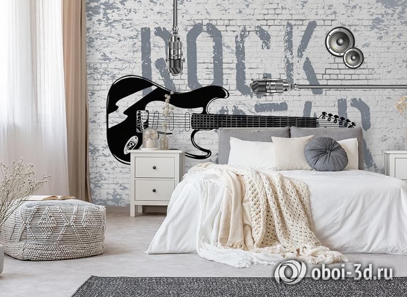 3D Фотообои «ROCK STAR» вид 8