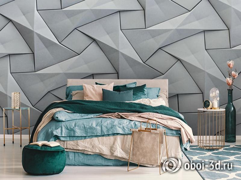 3D Фотообои «Мозаика из квадратов» вид 6