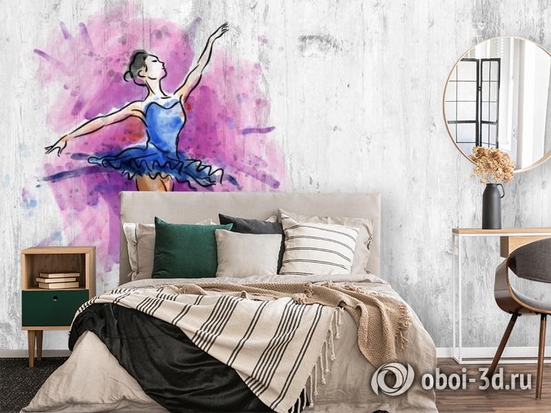 3D Фотообои «Балерина» вид 4