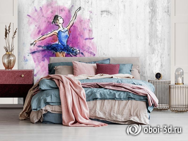 3D Фотообои «Балерина» вид 3