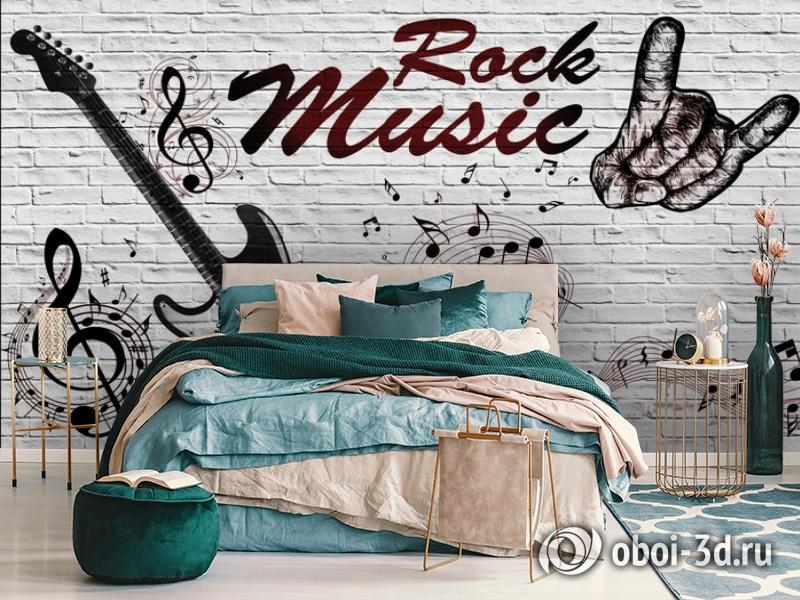 3D Фотообои «В стиле Rock» вид 7