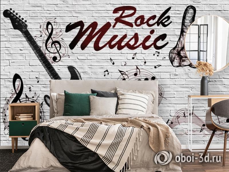 3D Фотообои «В стиле Rock» вид 4