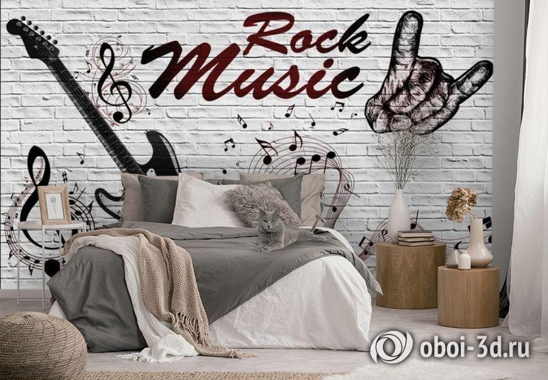 3D Фотообои «В стиле Rock» вид 2
