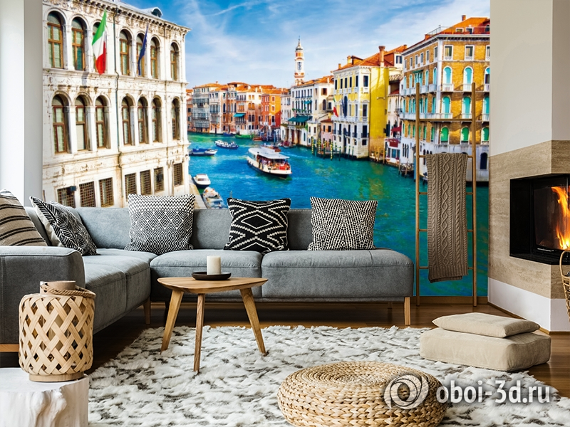 "3D Фотообои  ""Венеция: канал Ла-Джудекка""  вид 5"