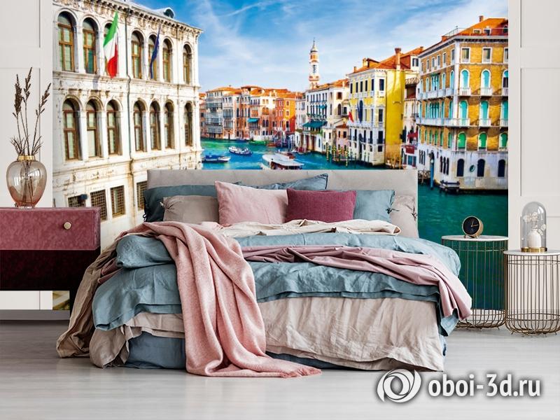 "3D Фотообои  ""Венеция: канал Ла-Джудекка""  вид 3"
