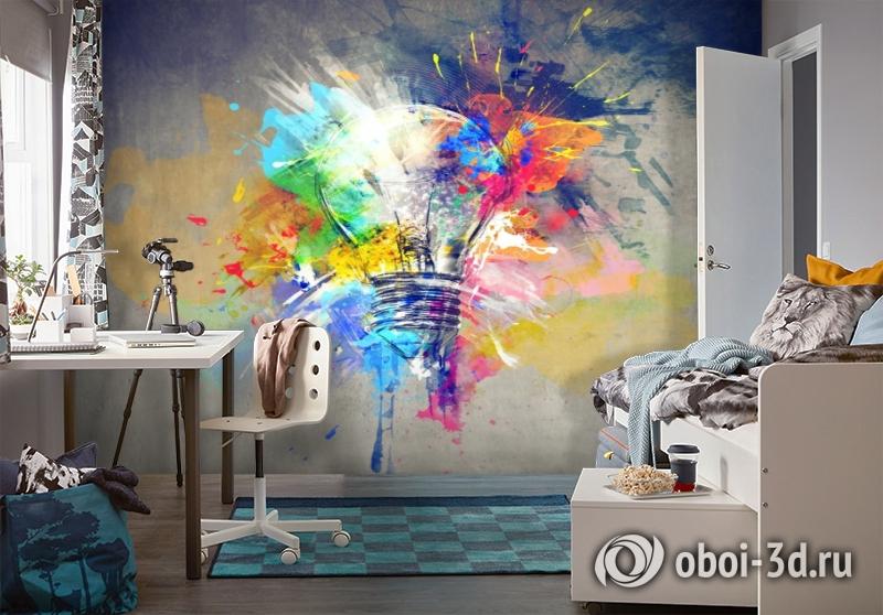 3D Фотообои «Свежая идея» вид 4
