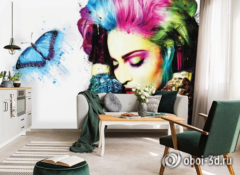 3D Фотообои «Мадонна» вид 5