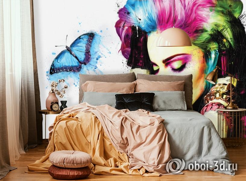 3D Фотообои «Мадонна» вид 4