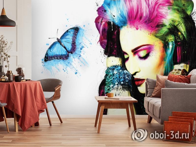 3D Фотообои «Мадонна» вид 3