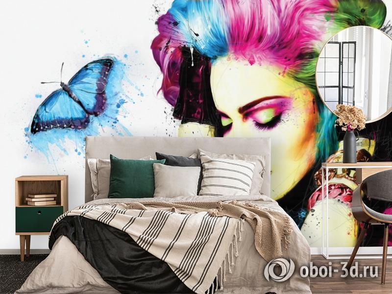 3D Фотообои «Мадонна» вид 2