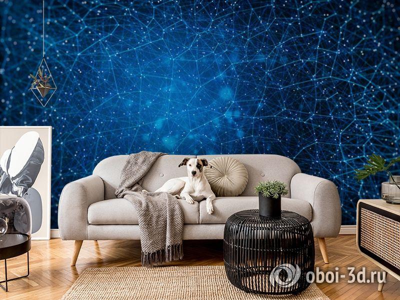 3D Фотообои «Космическая геометрия» вид 7