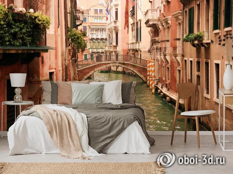3D Фотообои «Мостик в Венеции» вид 6