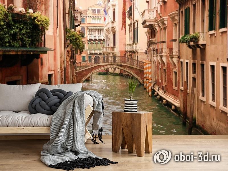 3D Фотообои «Мостик в Венеции» вид 5