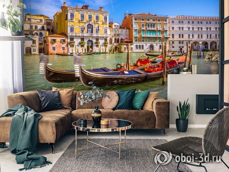 3D Фотообои «Яркий полдень в Венеции» вид 7