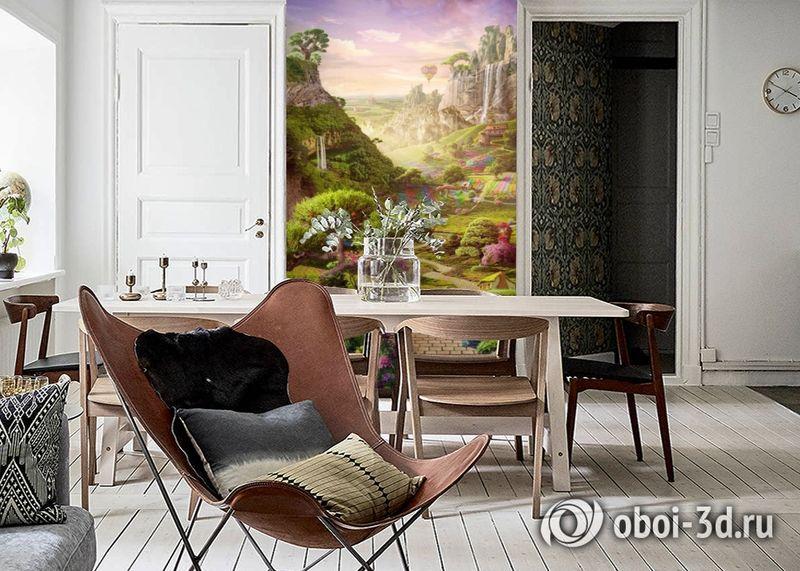3D Фотообои «Дорога в сказочное королевство» вид 6