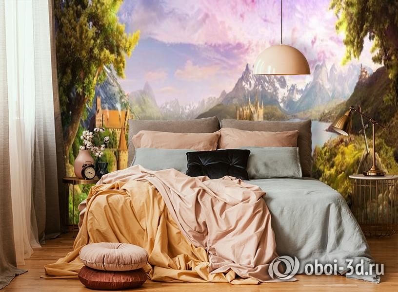 3D Фотообои «Средневековая панорама» вид 4