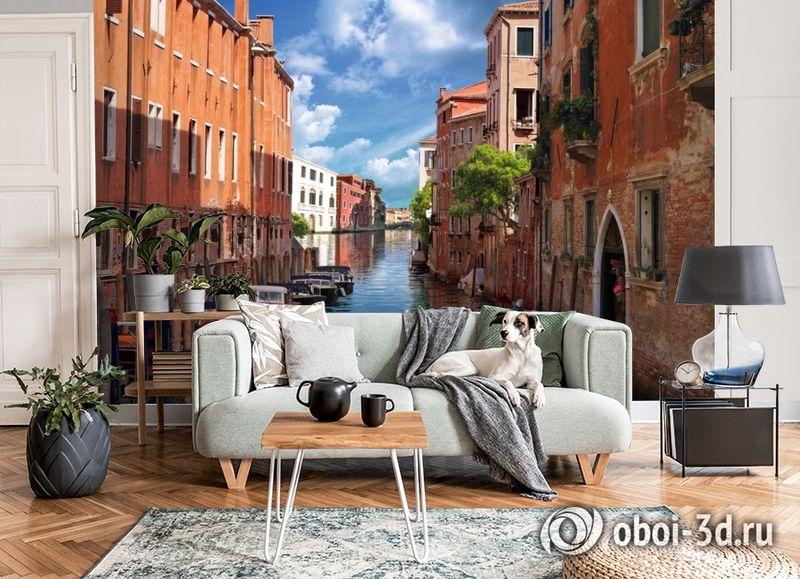 3D Фотообои «Тихая Венеция» вид 6
