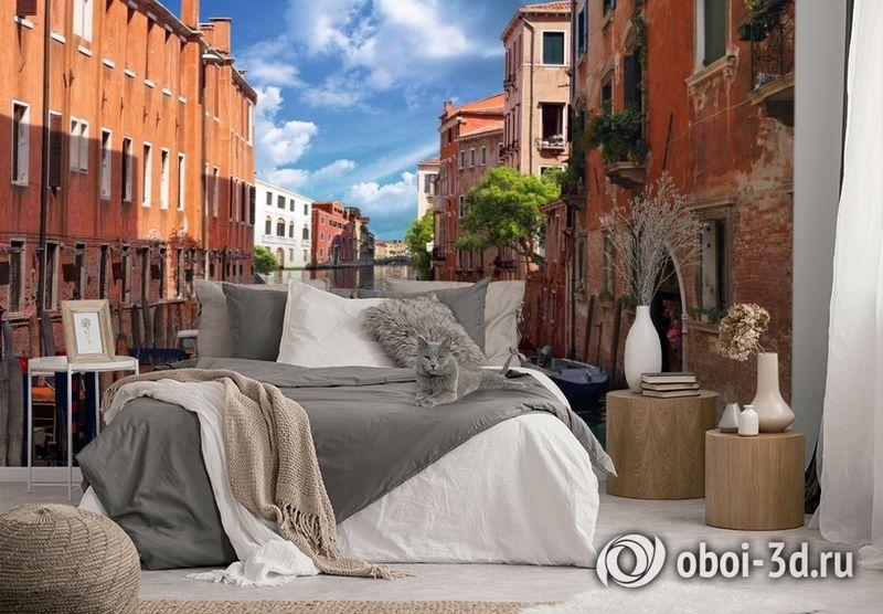 3D Фотообои «Тихая Венеция» вид 2