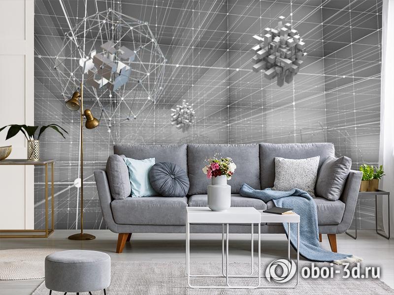 3D Фотообои «Физическая абстракция» вид 4