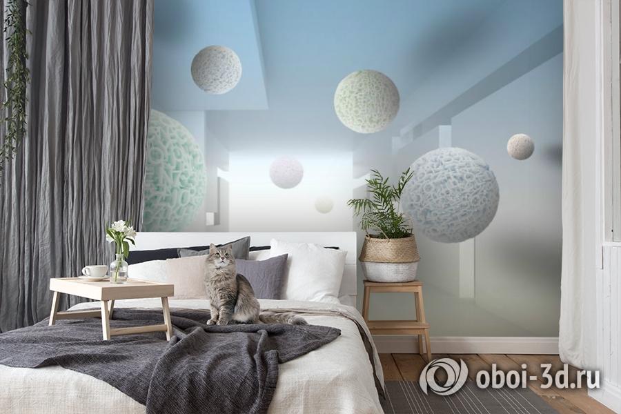 3D Фотообои «Сферическая абстракция» вид 8