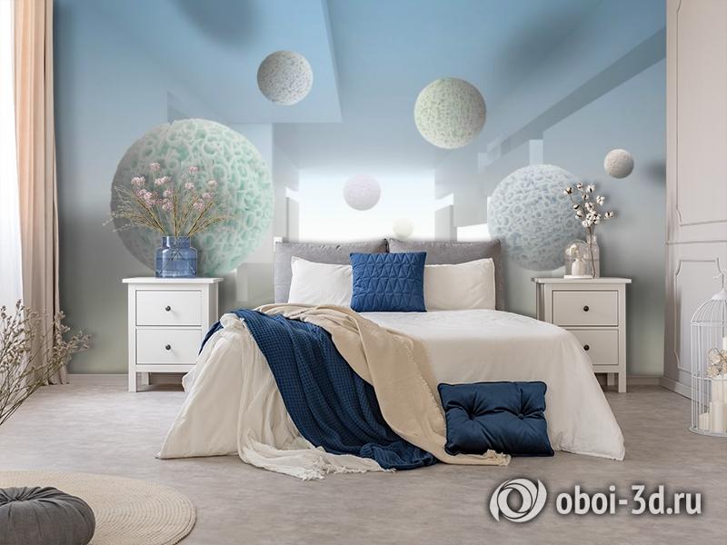 3D Фотообои «Сферическая абстракция» вид 5