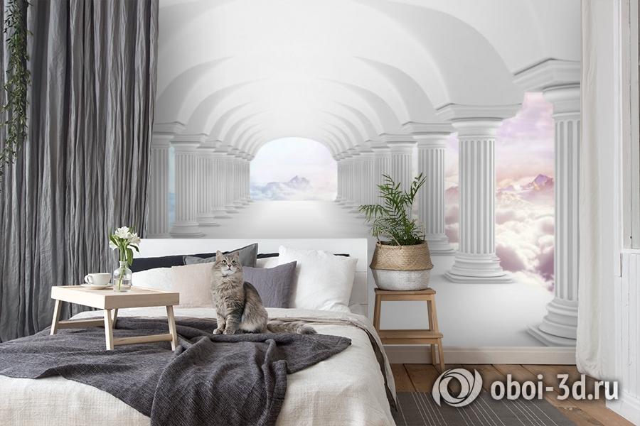 3D Фотообои «Терраса на Олимпе» вид 8