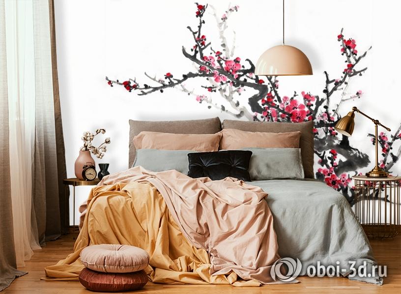 3D Фотообои  «Японские мотивы: Сакура»  вид 5