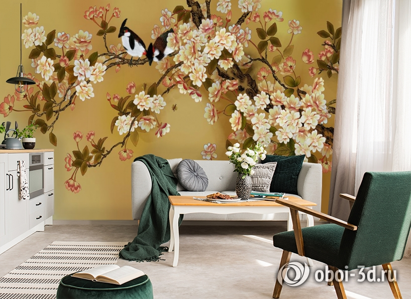 3D Фотообои  «Японский сад»  вид 6