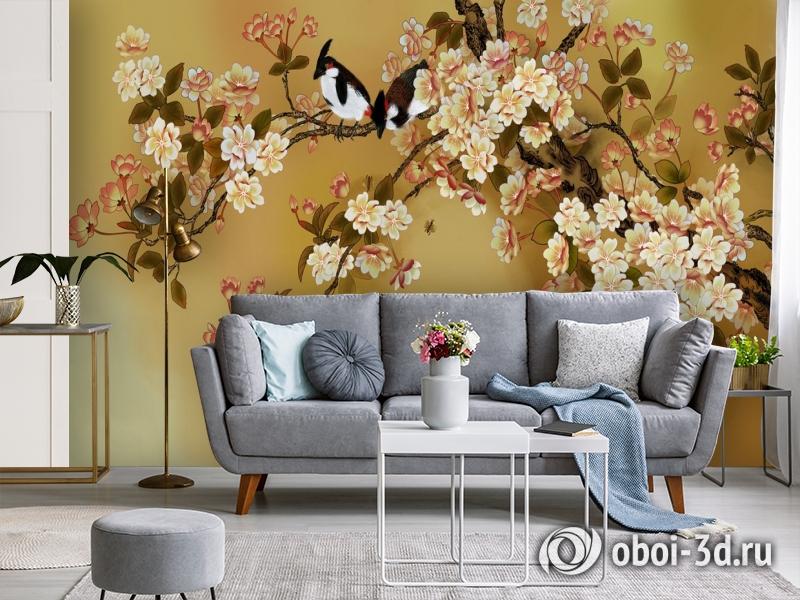 3D Фотообои  «Японский сад»  вид 3