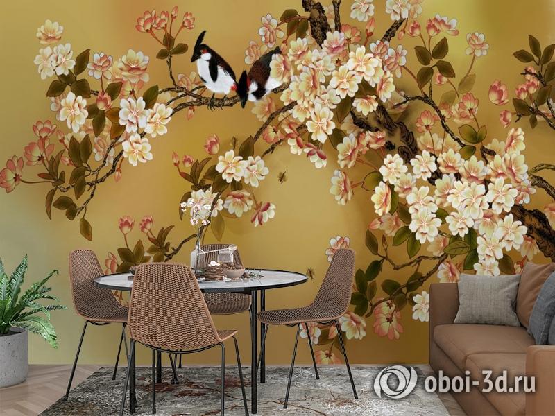 3D Фотообои  «Японский сад»  вид 2