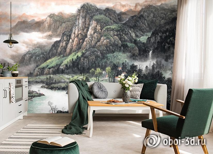 3D Фотообои  «Горы»  вид 6