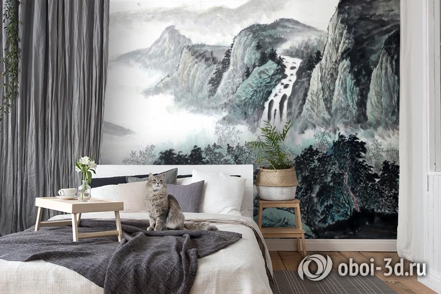 3D Фотообои  «Японские мотивы: Горы»  вид 7