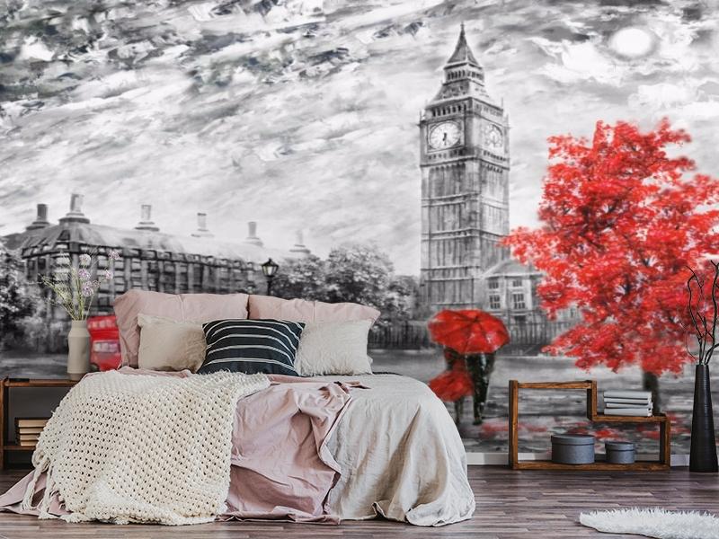 3D Фотообои «Лондон Башня Елизаветы» вид 3