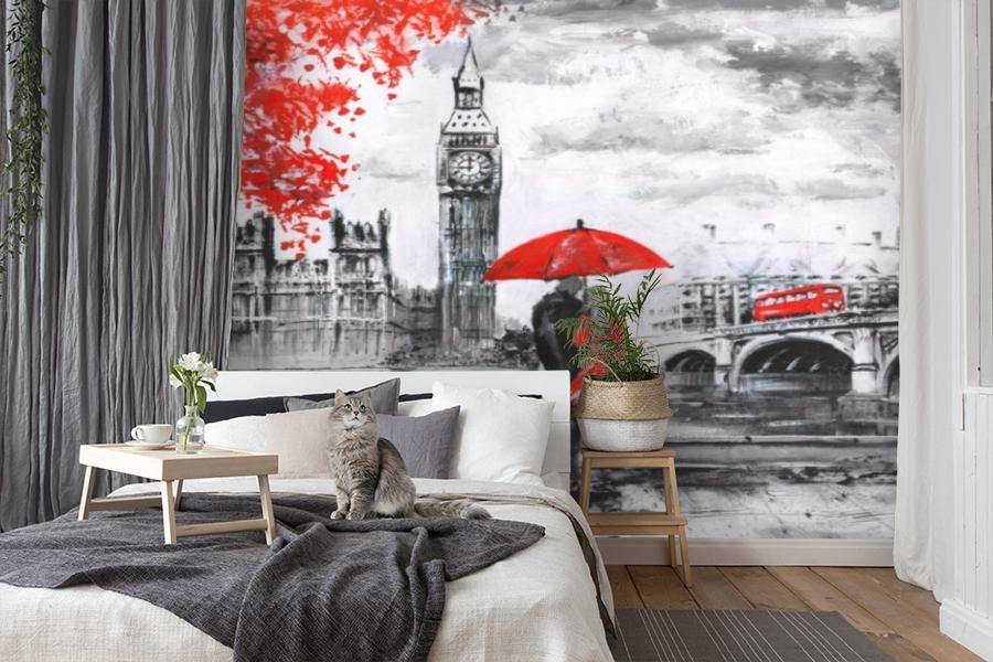 3D Фотообои «Романтика Лондона» вид 7