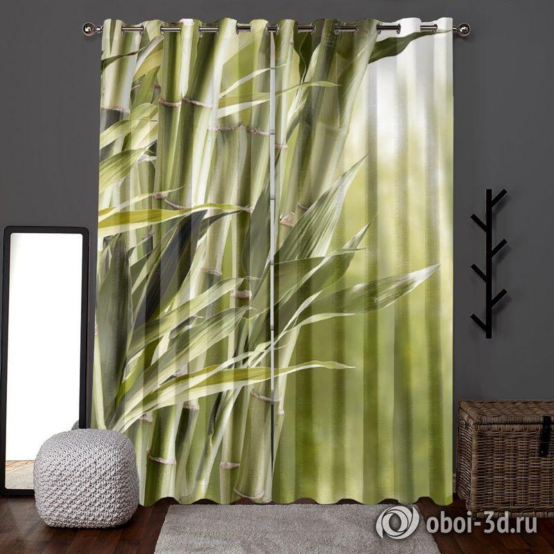 Фотошторы «Бамбук» вид 6