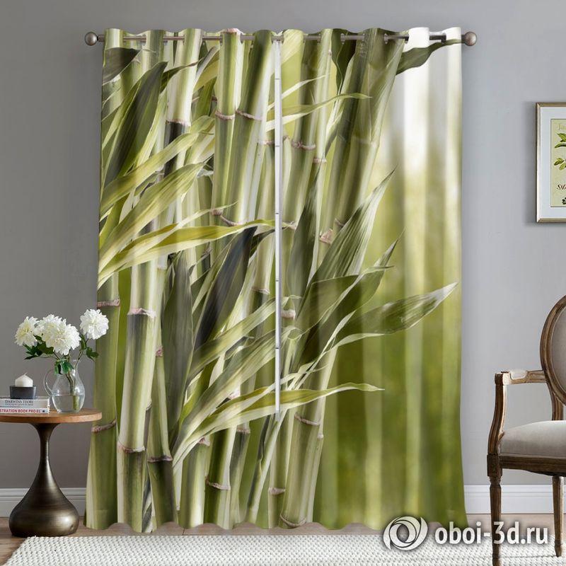 Фотошторы «Бамбук» вид 5
