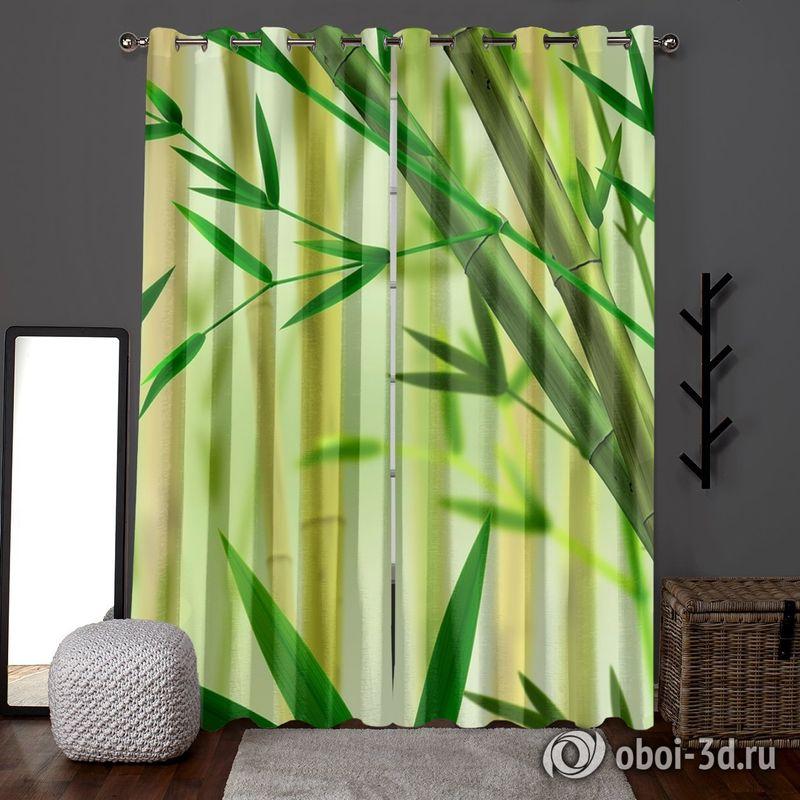 Фотошторы «Светлый бамбук» вид 6