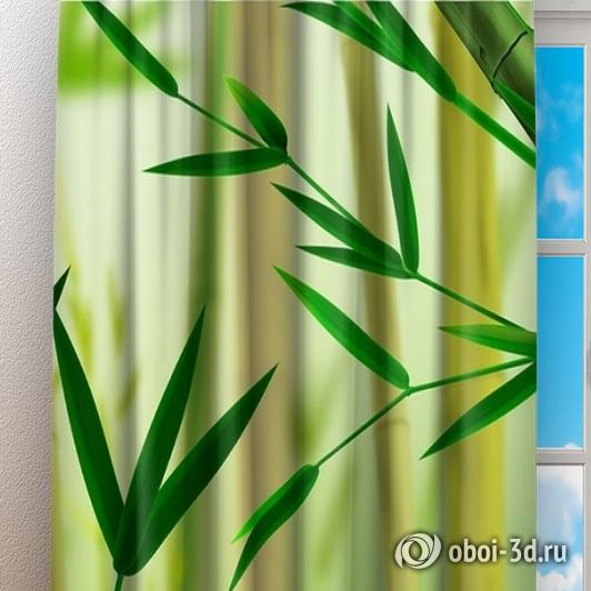 Фотошторы «Светлый бамбук» вид 3