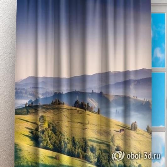 Фотошторы «Альпийский луг» вид 3