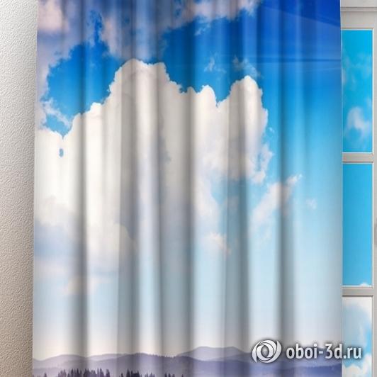 Фотошторы «Альпийское утро» вид 3