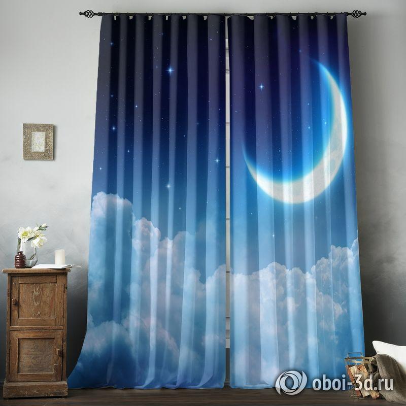Фотошторы «Ночная луна» вид 8
