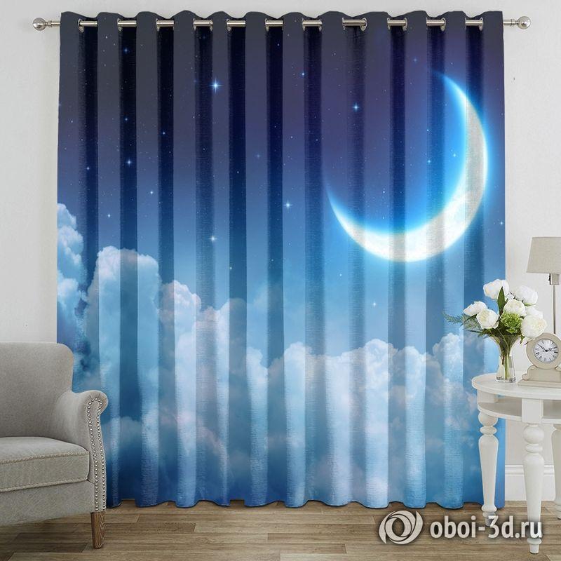 Фотошторы «Ночная луна» вид 7
